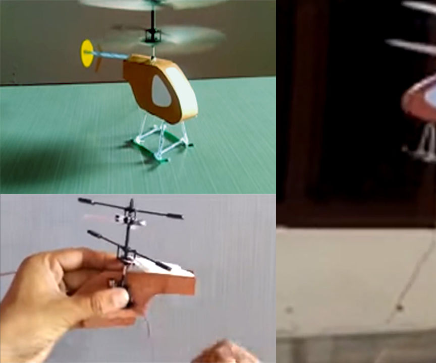 How to Make a Electric Toy Helicopter Thats Fly | by Rasel Homemade Creator