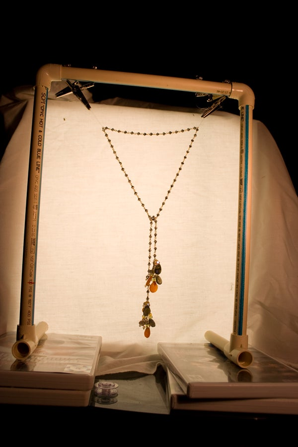 How to Make a Jewelry Hanger for Photography/product Shots
