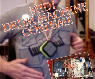 MIDI Drum Machine Costume