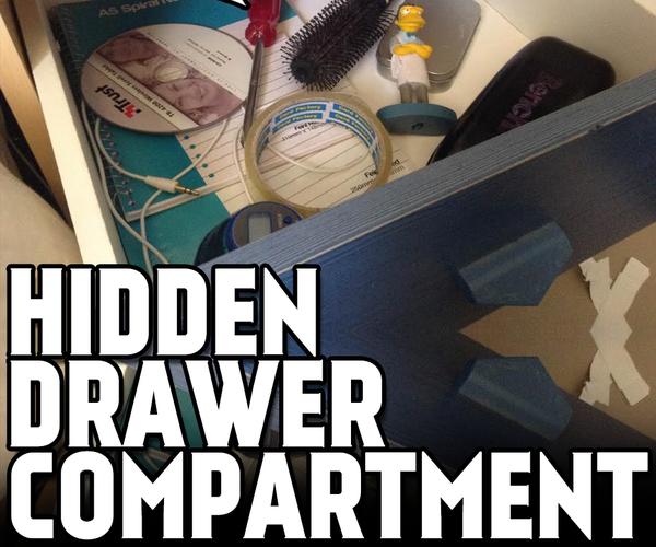 Hidden Drawer Compartment