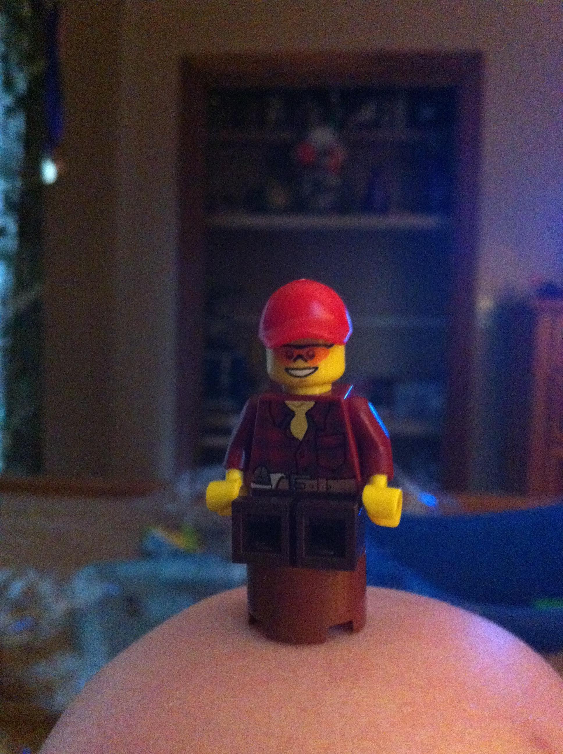 Round Lego Chair
