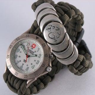 Woven Paracord Bracelet/watchband