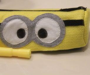 DIY: Minion Pencil Case