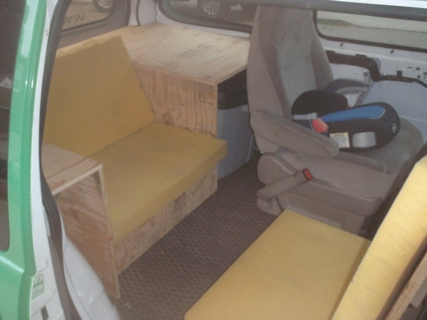 Turn Your Van Into a Lounge
