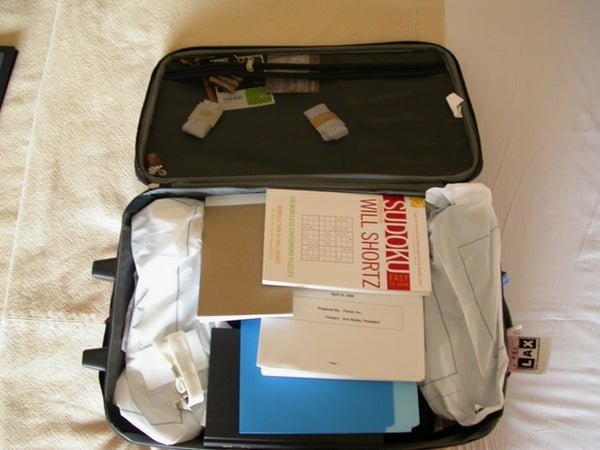 Pack a Carry on Suitcase