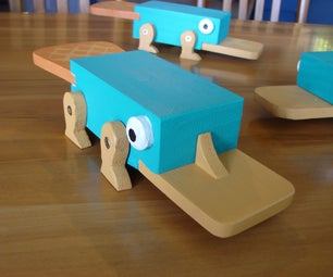 How to Build a Perry the Platypus Inaction Figure
