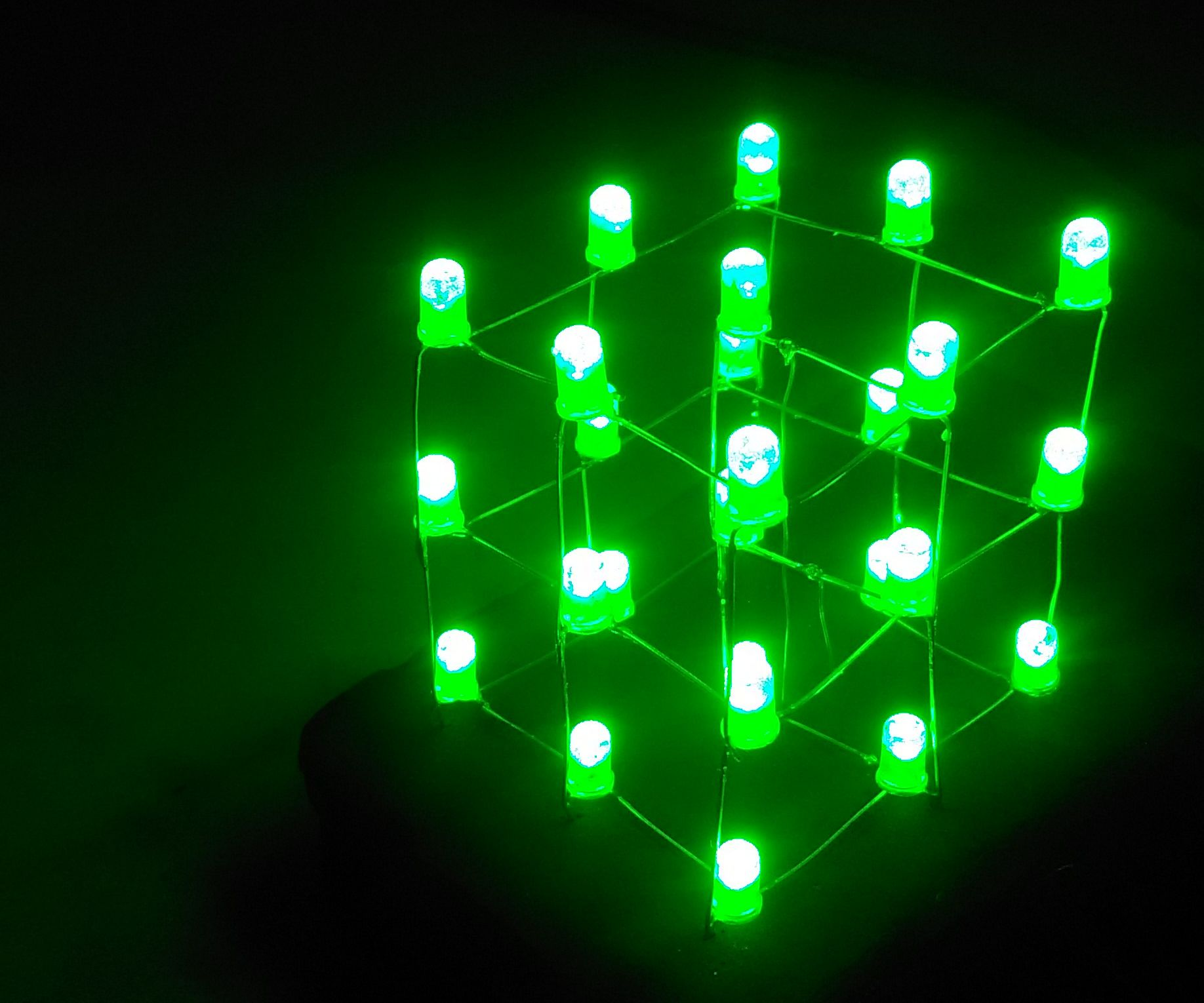 3x3x3 LED Cube With Bluetooth (Android)