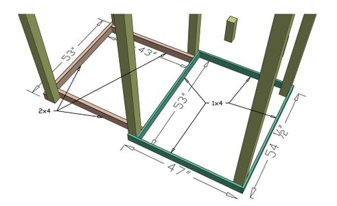 Install Supports for Ground Floor