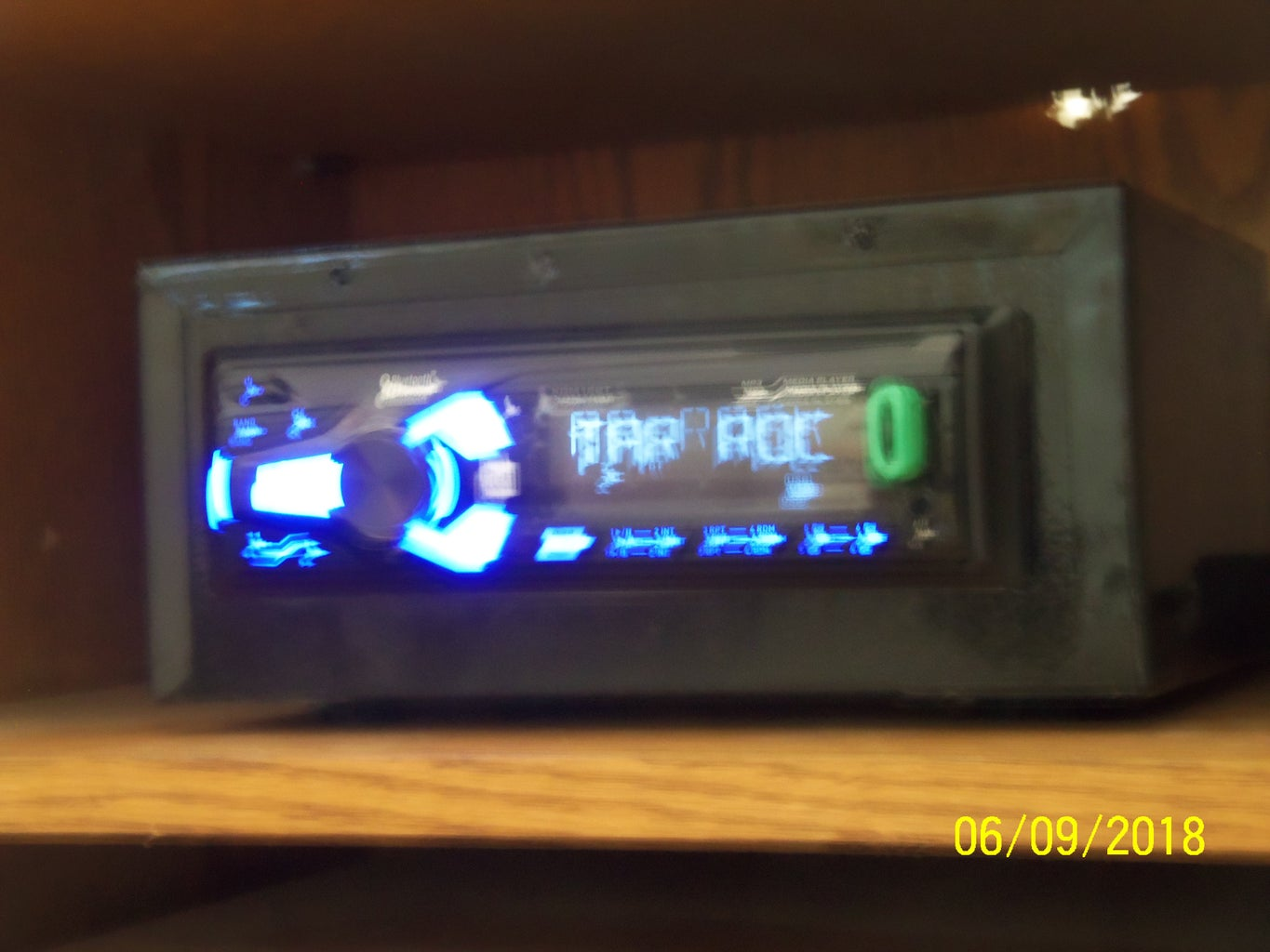 Using an Automotive Stereo to Play Mp3s on Older Home Stereo