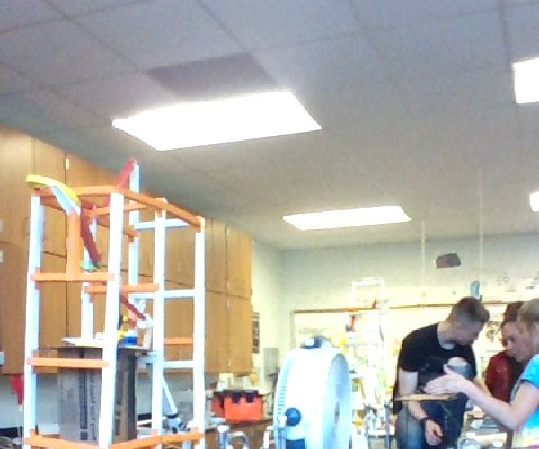 Rube Goldberg - Physics Final