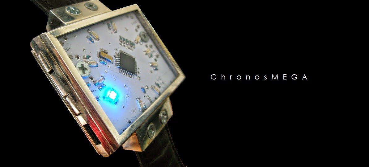 ChronosMEGA; a wrist watch