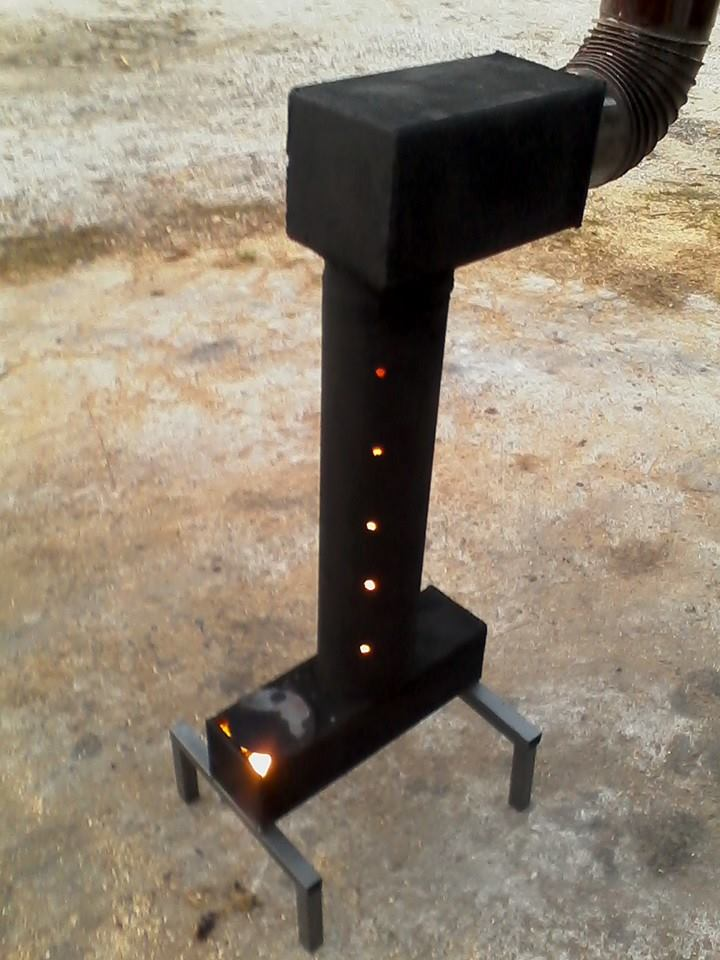 Waste oil heater Spark