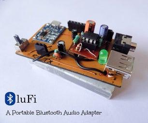 DIY Bluetooth Audio Adapter - BluFi
