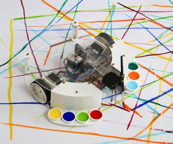 Arduino动力喷漆机器人