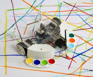 Arduino Powered Painting Robot