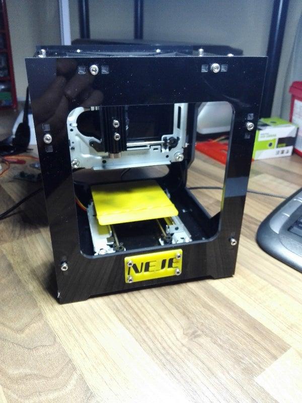 Neje DK 8 Laser Engraver on Windows 8 - 10