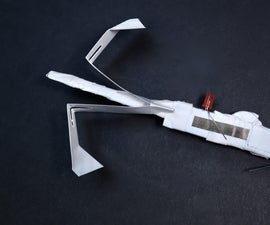 Papercraft LED Whirlybird (with Launcher)