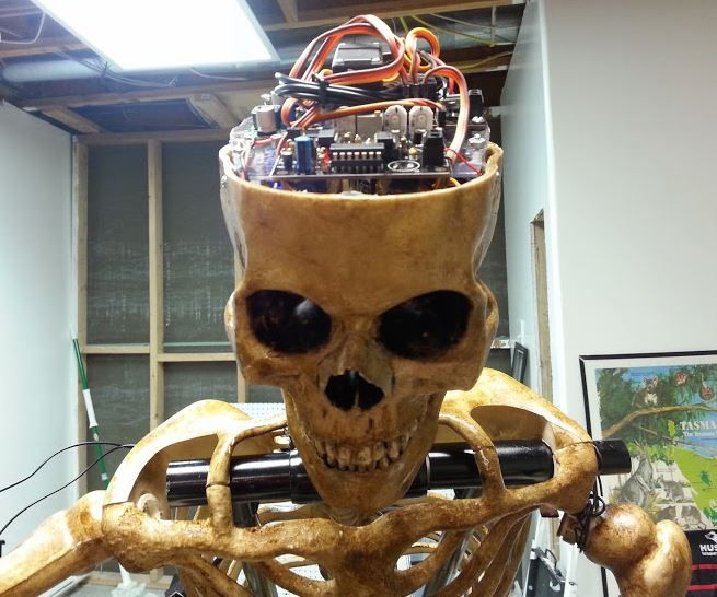 Automated Talking Skull