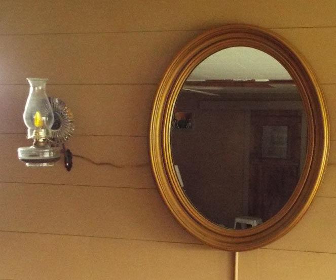 Kerosene to Electric Conversion: Wall Sconce