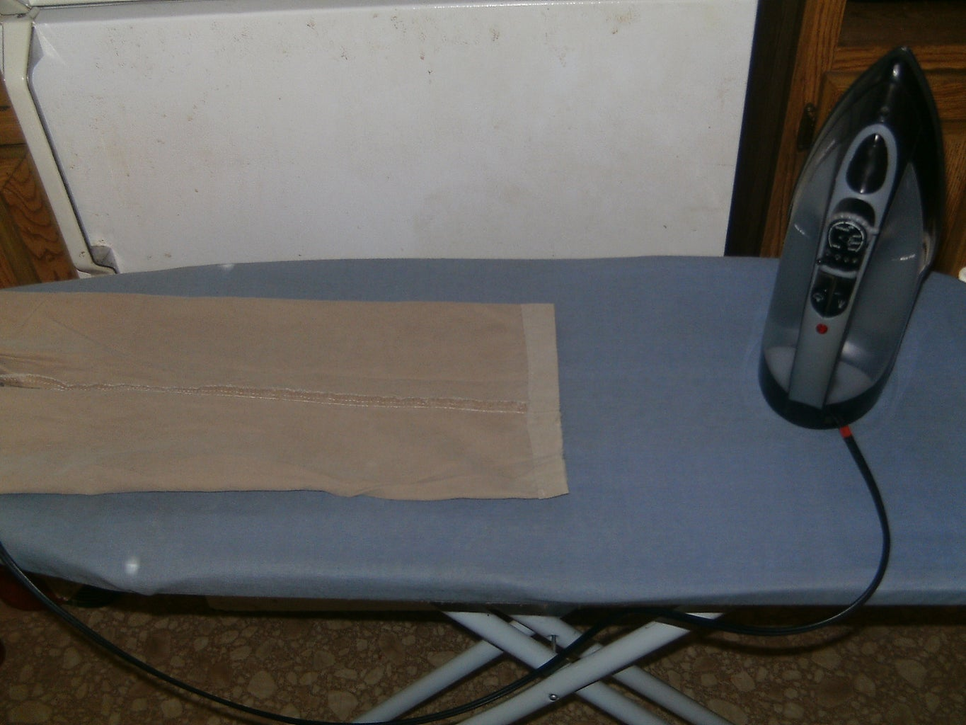 Prepping the Fabric / Heating the Tape