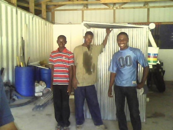 Arbor Loo Composting Toilet for Haiti
