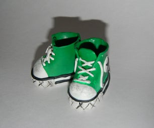 How to Make a Pair of Tiny Sneakers!