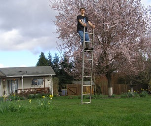 """How to """"balance"""" on a Ladder"""