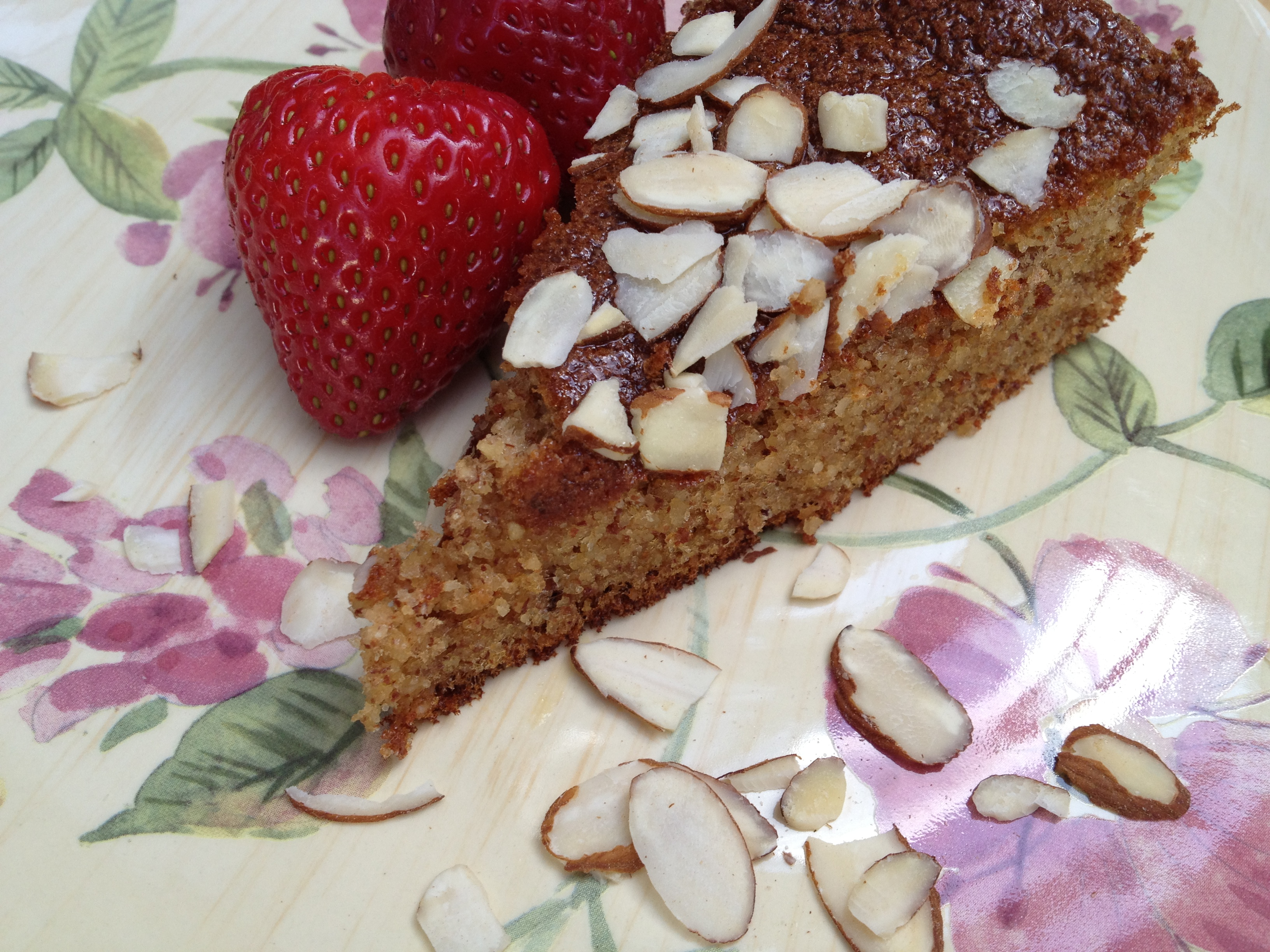 Almond Flour Honey Cake