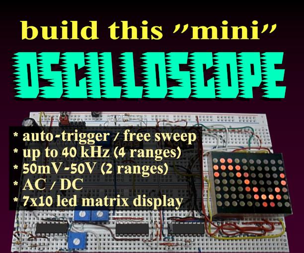 DIY Mini Oscilloscope