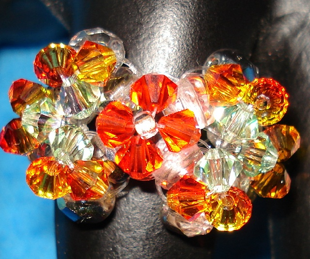 Make a dazzling Butterfly Crystal Ring