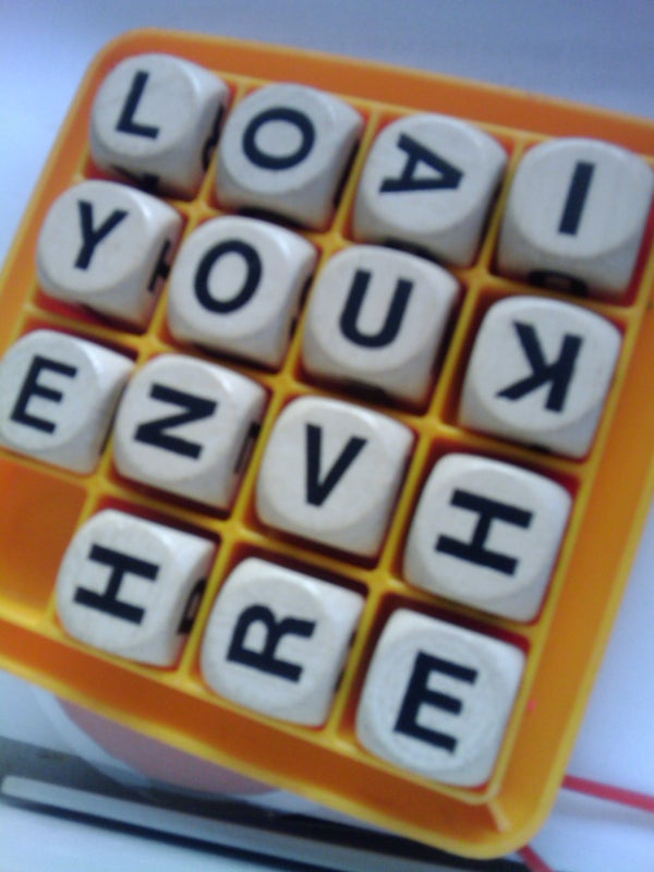 Boggle Your Love!