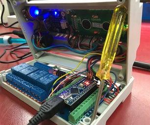 Aquariumatic V1: Arduino Powered Multi-Aquarium Monitor
