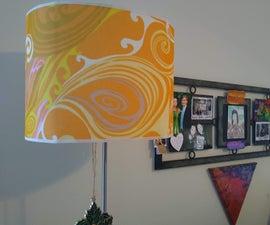 Groovy Lamp Shade Upgrade