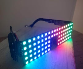 RGB LED Pixel Shades