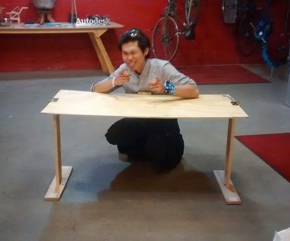 Portable Modular Table - Made @TechShop!