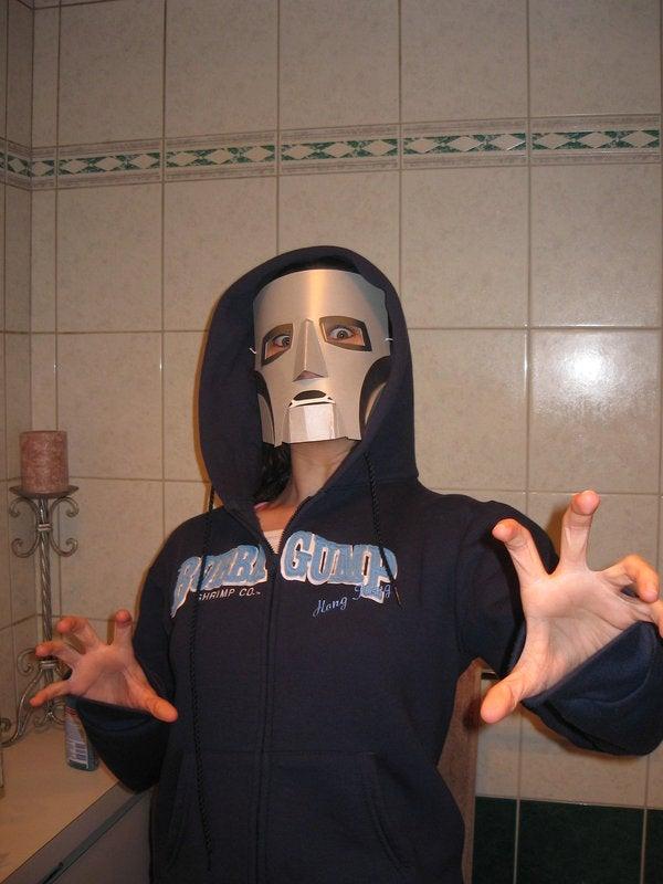 How to Make Dr. Doom's Mask