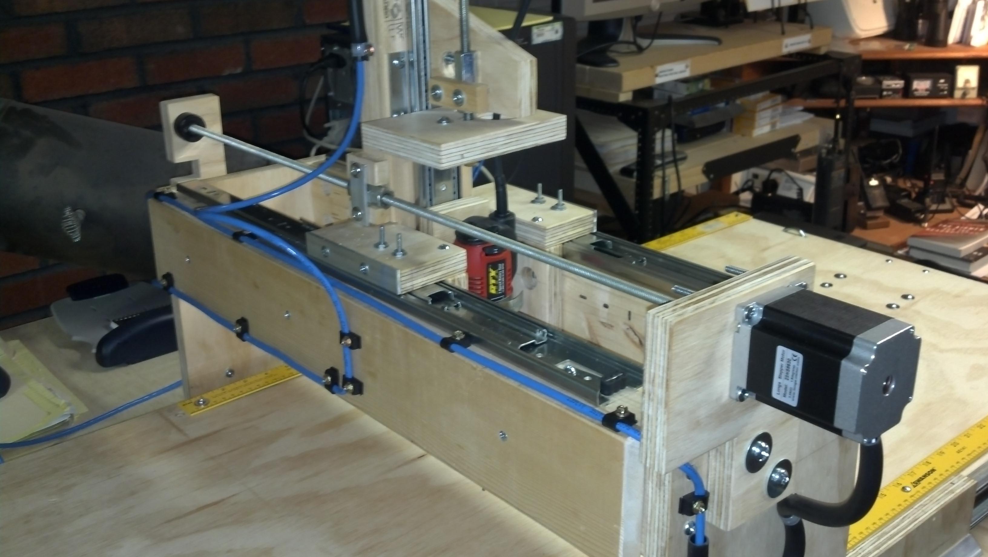 $400 DIY Drawer Slide CNC Machine