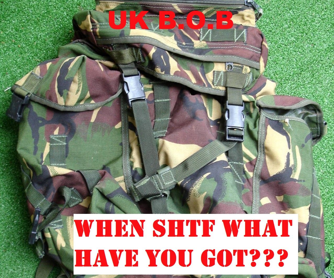 U.K Bug out Bag - 1.0