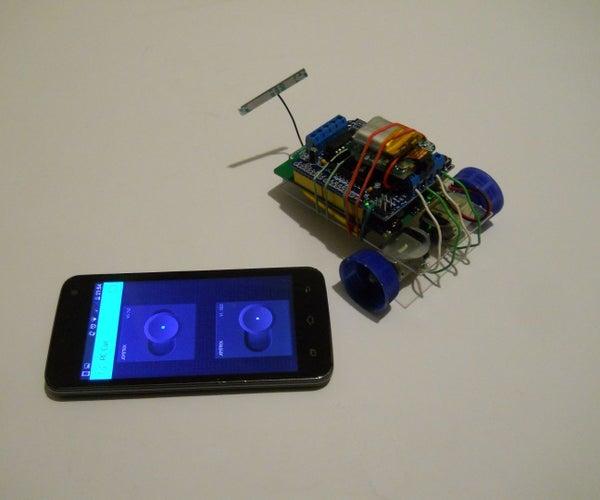 WiFi Phone Controlled Mini RC Spy Car