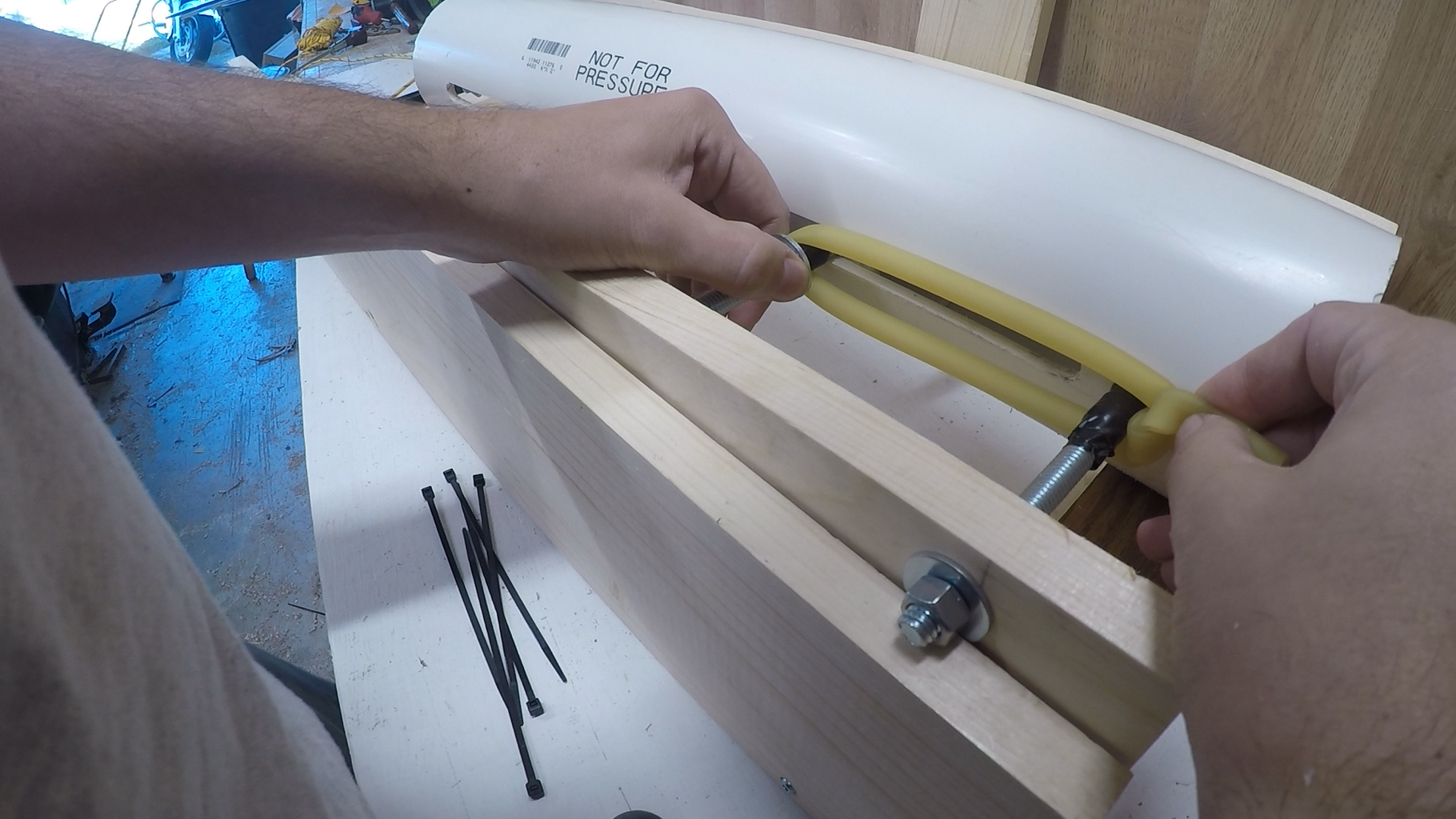 Pipe to Base Assembly