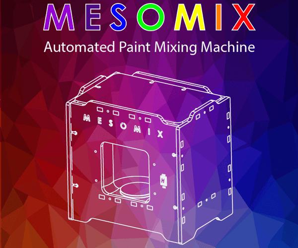 MESOMIX - Automated Paint Mixing Machine