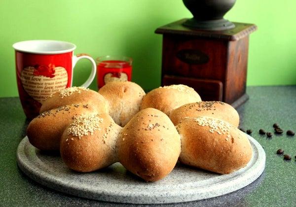 Quick Wholewheat Bread Rolls