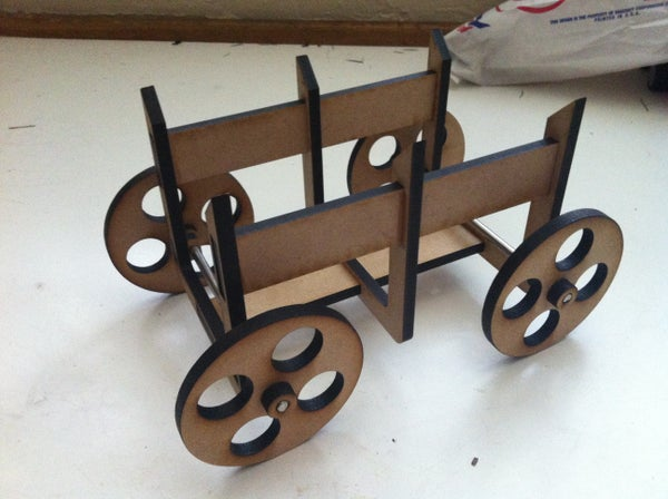 (Very) Cheap and Easy Cart for a Science Fair Project...