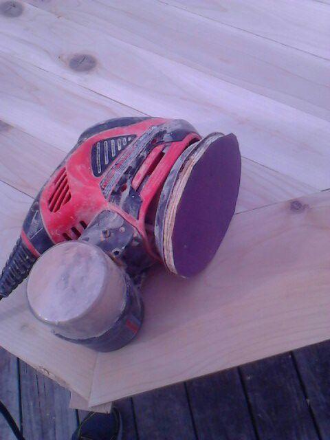 use any sandpaper on an orbital sander