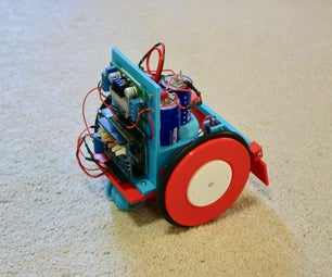 Ultracapacitor Powered Robot