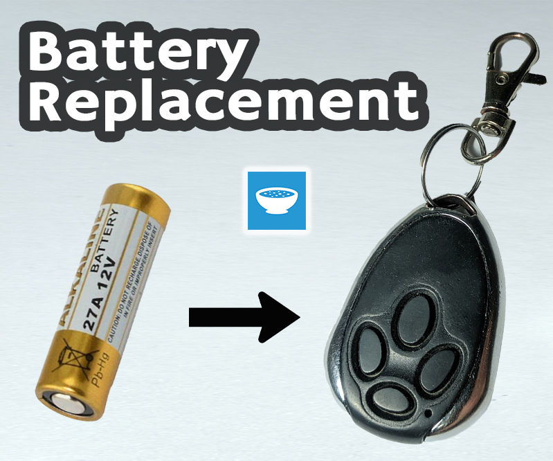 Replace the Battery on a Garage Opener