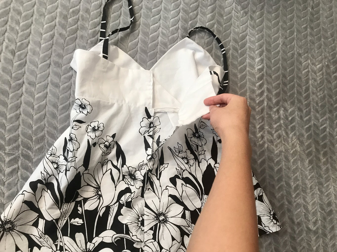Summer Blouse With Pattern