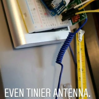 433 MHz Coil Loaded Antenna