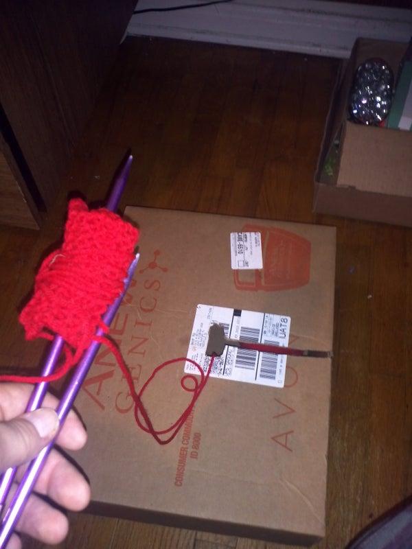 Anti Kitty Knitting Box