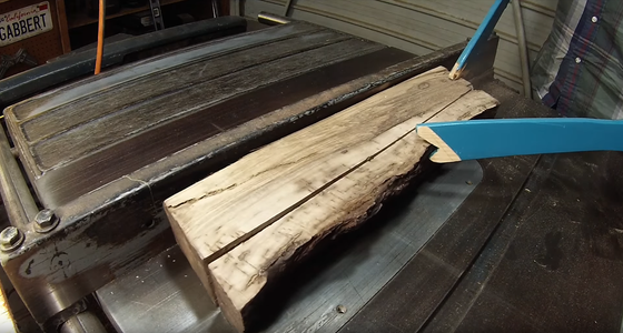 Cut Off Your Live Edge.